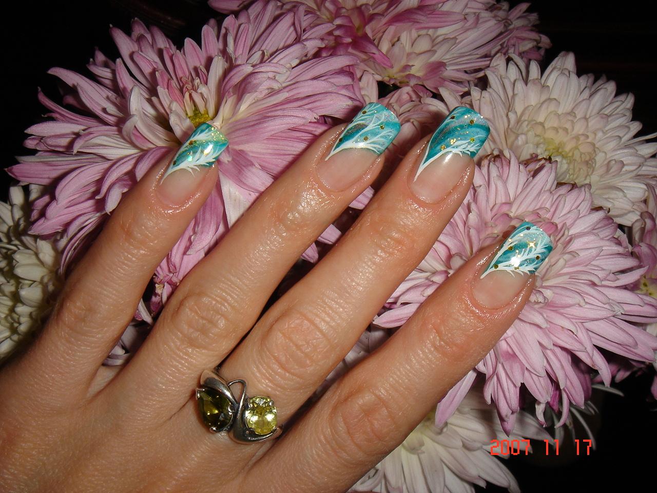 Фотографии рисунков на ногтях