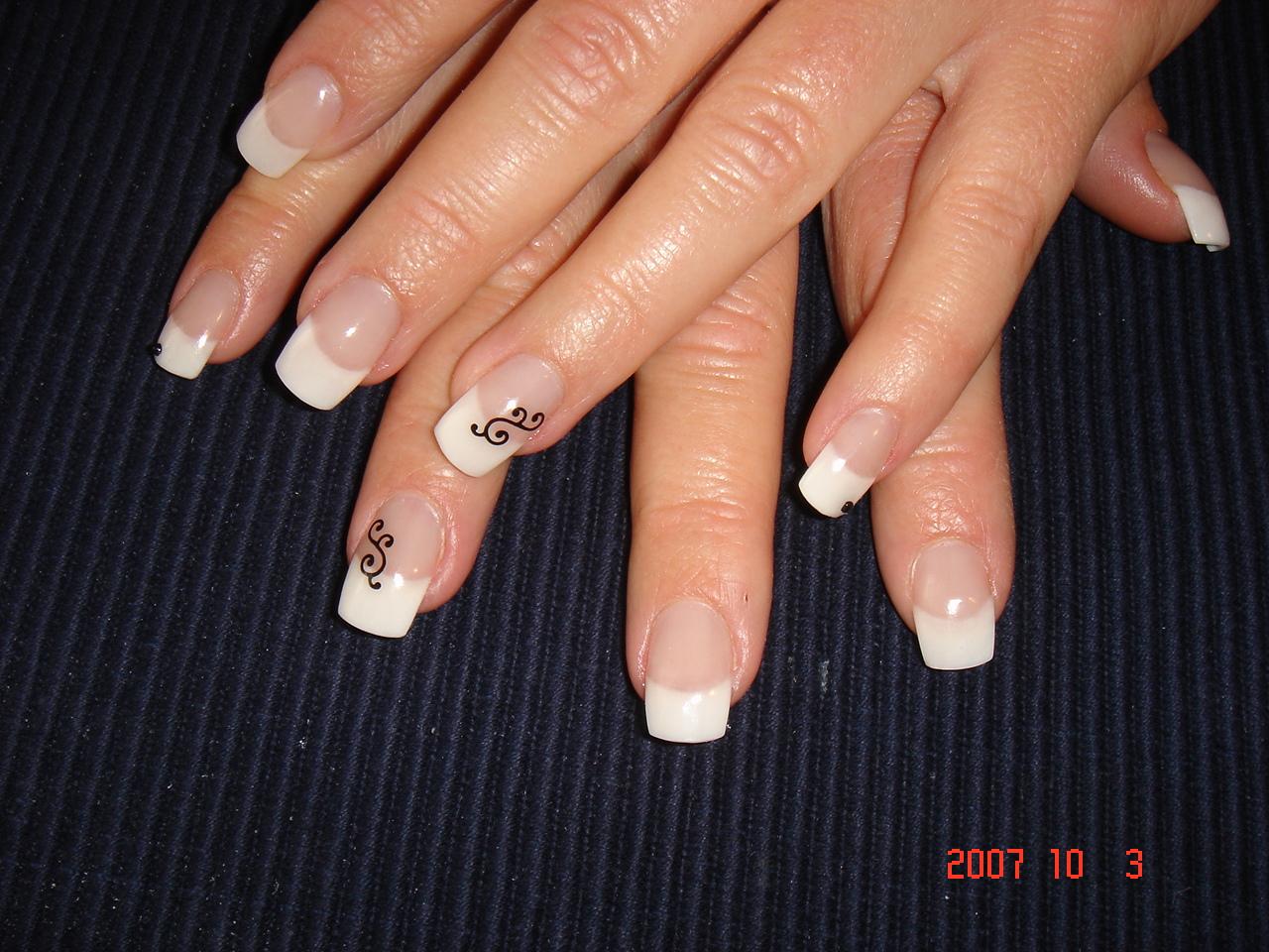 Дизайн ногтей френч. 180 фото 59