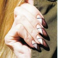 """Рисунок на ногтях """"Восточный вояж-2"""""""