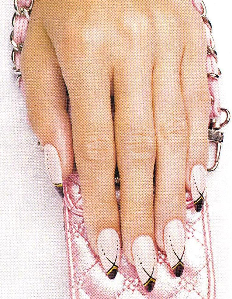 рисунки на ногтях акриловыми