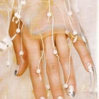 """Рисунок на ногтях """"Нежность"""""""