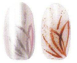 """Рисунок на ногтях """"Райские птички"""""""