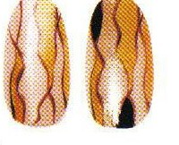 "Рисунок на ногтях ""Энигма"""
