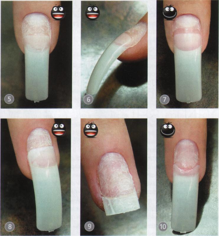 Типсы для наращивания ногтей в домашних условиях