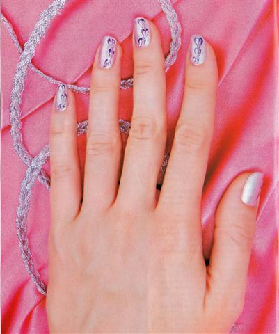 Декупаж на ногтях в домашних условиях
