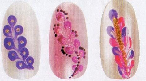 Маникюр рисование на ногтях