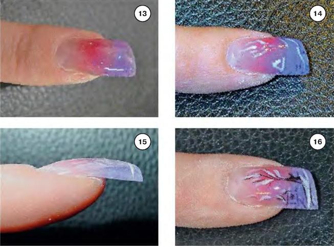 Как сделать аквариумные ногти гелем 172