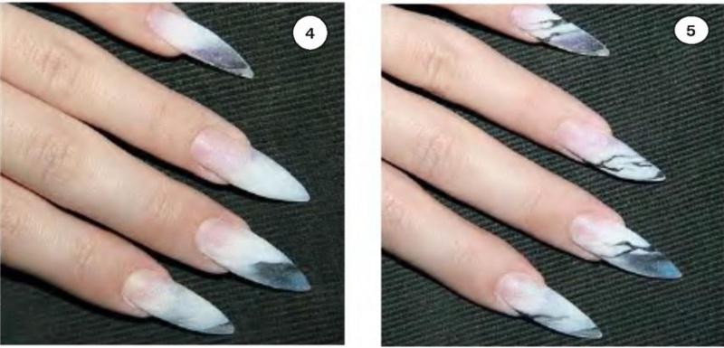 Ногти с дизайном леопард