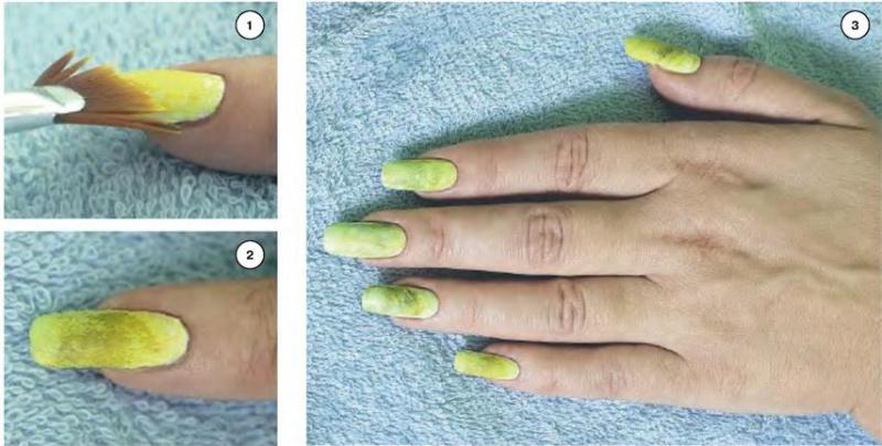Как сделать краску для ногтей 311