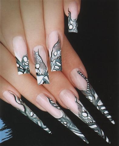 Наращивание ногтей и ногтевой дизайн