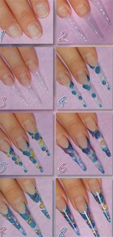 Фото дизайна ногтей схемы