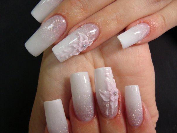 дизайн накладных ногтей: