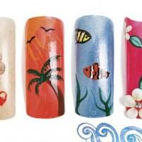 Пироженки на ногтях рисунок