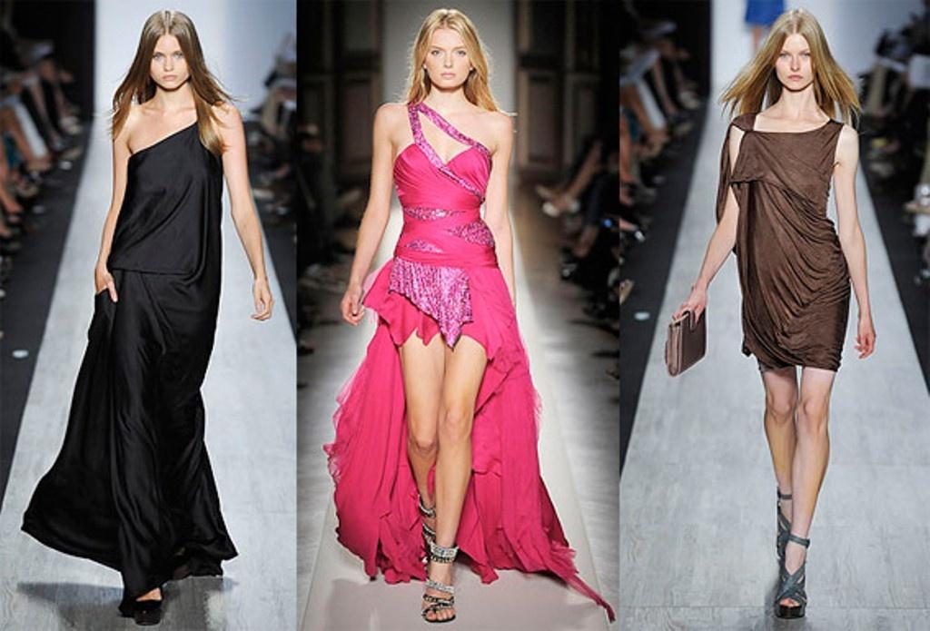 Фото платье модное