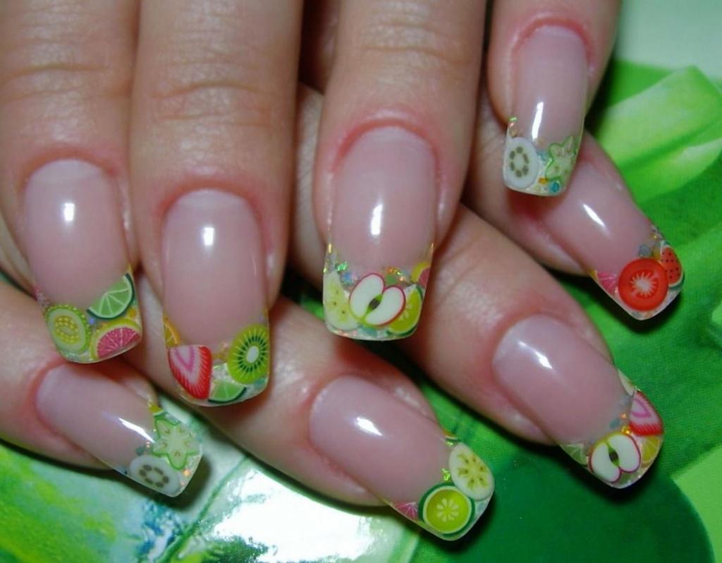 Маникюр на гелевые ногти дизайн с фото