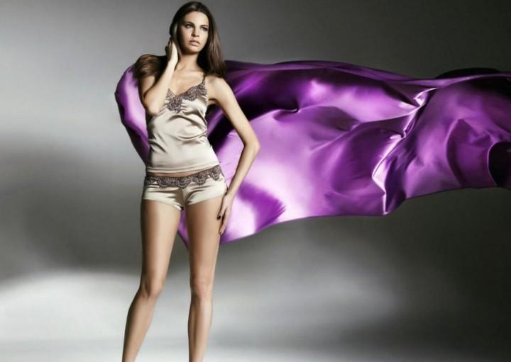 Современные шёлковые ткани