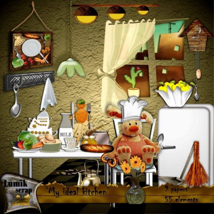 Уютная кухня - мечта хозяйки (1)