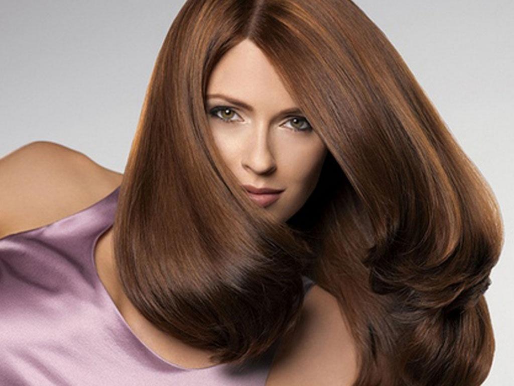 Длинные волосы эталон женской