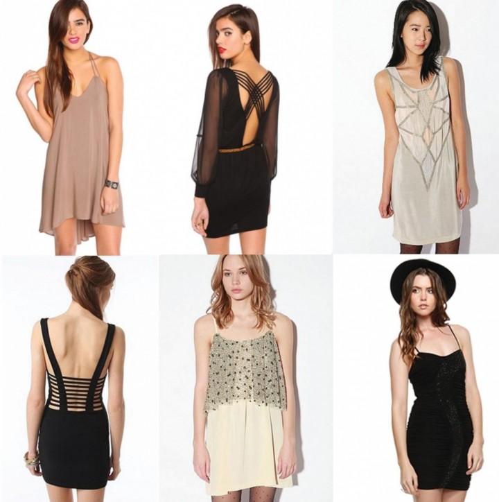 с чем носить короткие платья