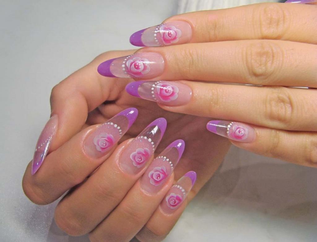 Наращивание ногтей гелем calgel: www.creativenails.ru/наращивание-ногтей-гелем...