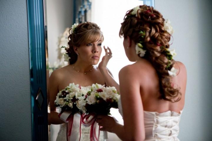 Свадебная прическа своими руками (2)