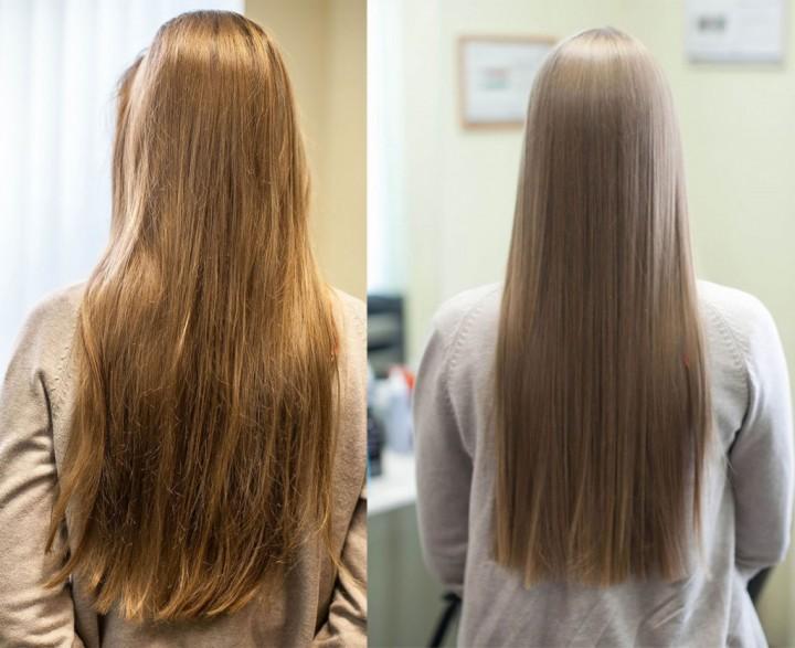 Безопасное кератиновое выпрямление волос (3)