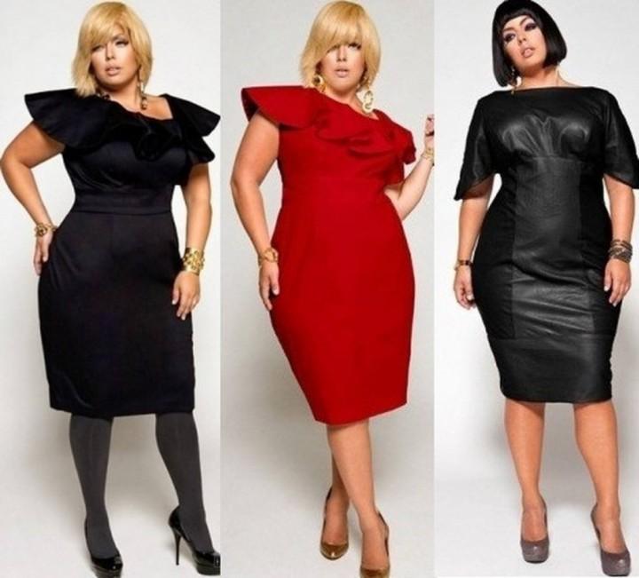 Выбор одежды для полных женщин (3)