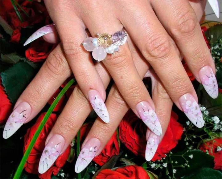 Наращивание ногтей модно и красиво (3)