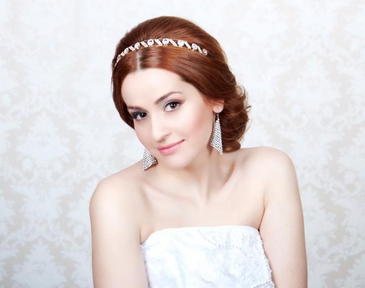 Греческий стиль в свадебном образе (3)