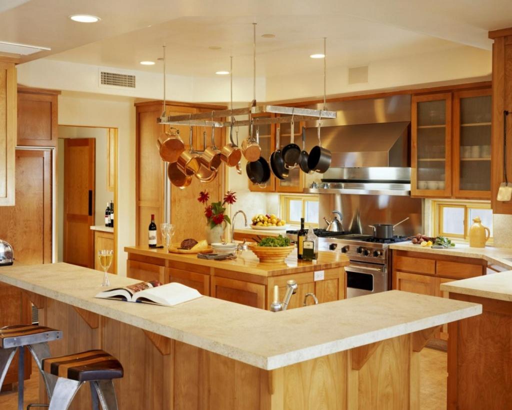 Оформление интерьера кухни фото