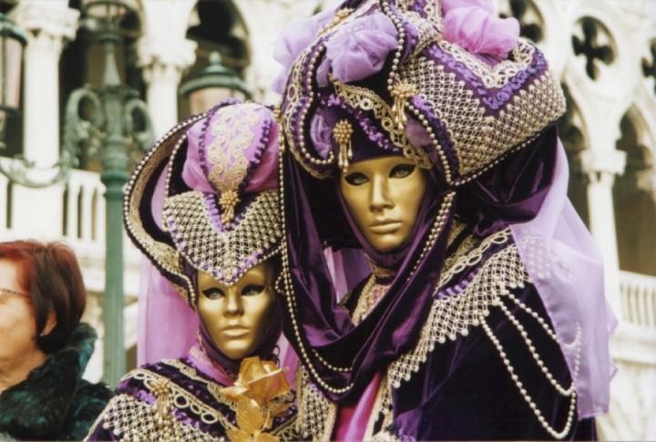 Свадьба в карнавальном стиле (3)