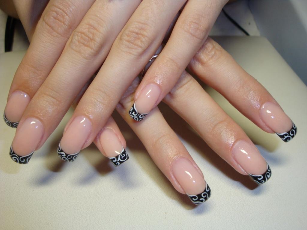 фото наращивание ногтей маникюр