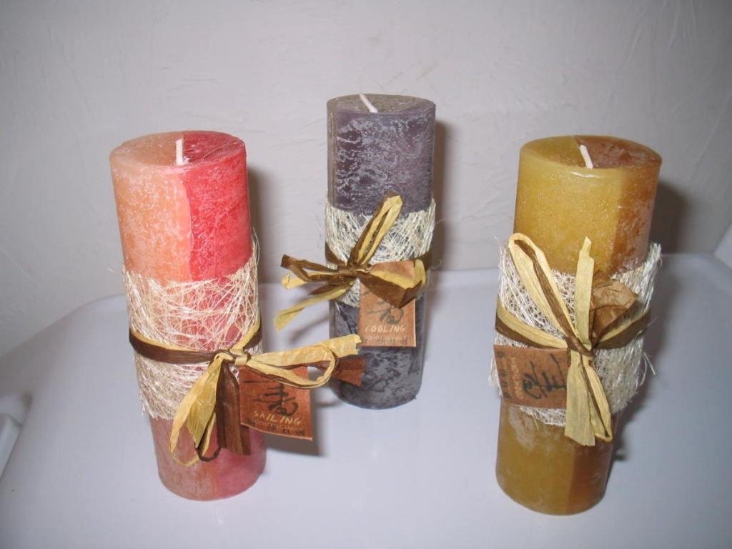 Свечи декоративные залить своими руками