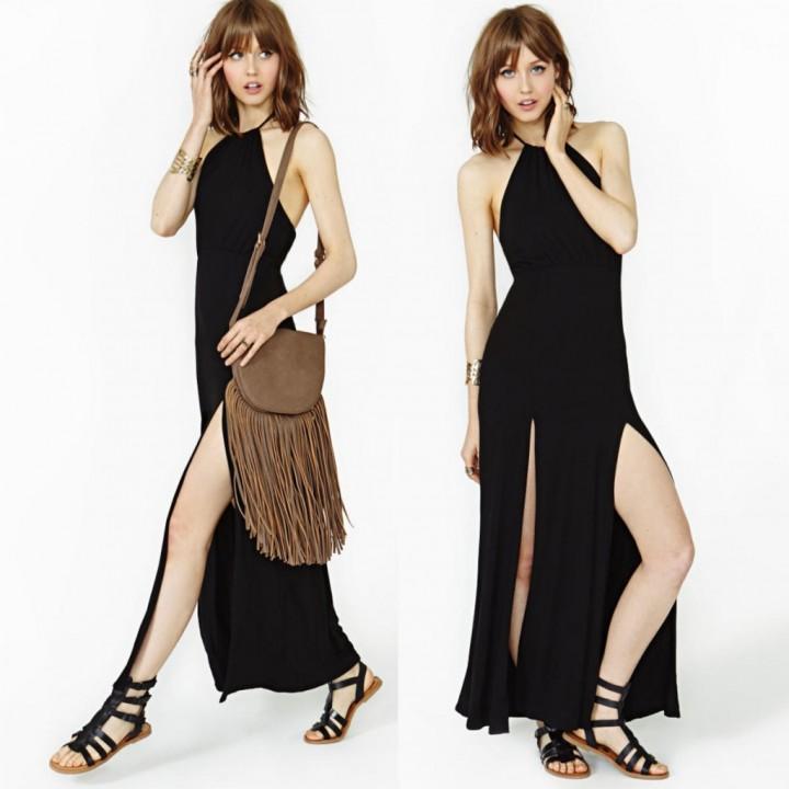 С чем носить длинную юбку1
