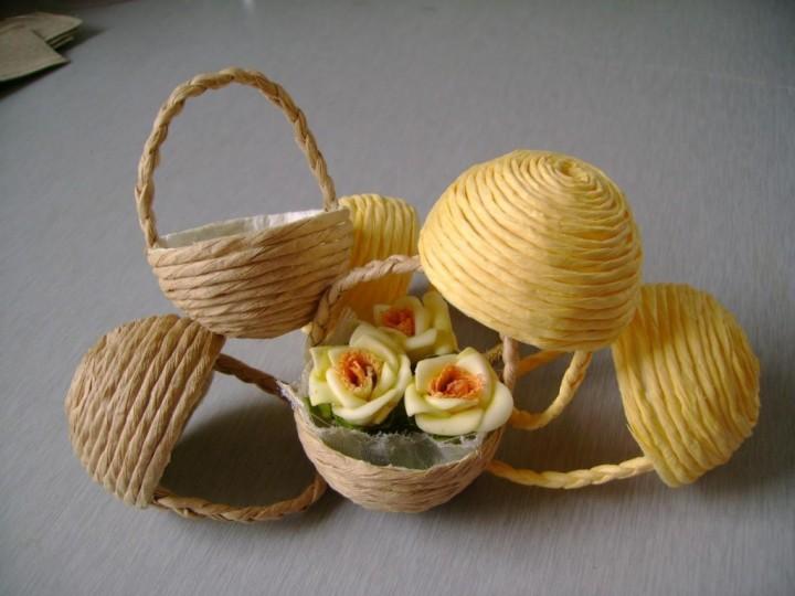 Плетеные вещи – экологичность в интерьере