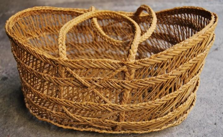 Плетеные вещи – экологичность в интерьере3