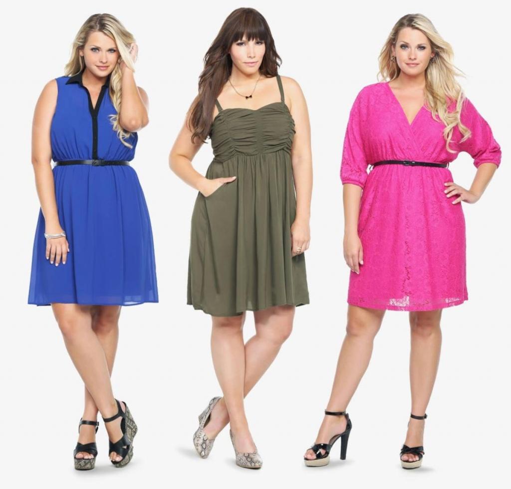 Большая женская одежда
