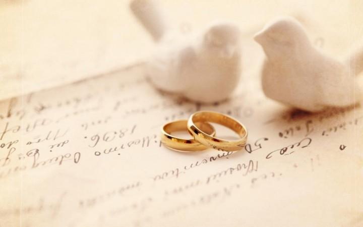 Важный момент проведения свадебного торжества.3
