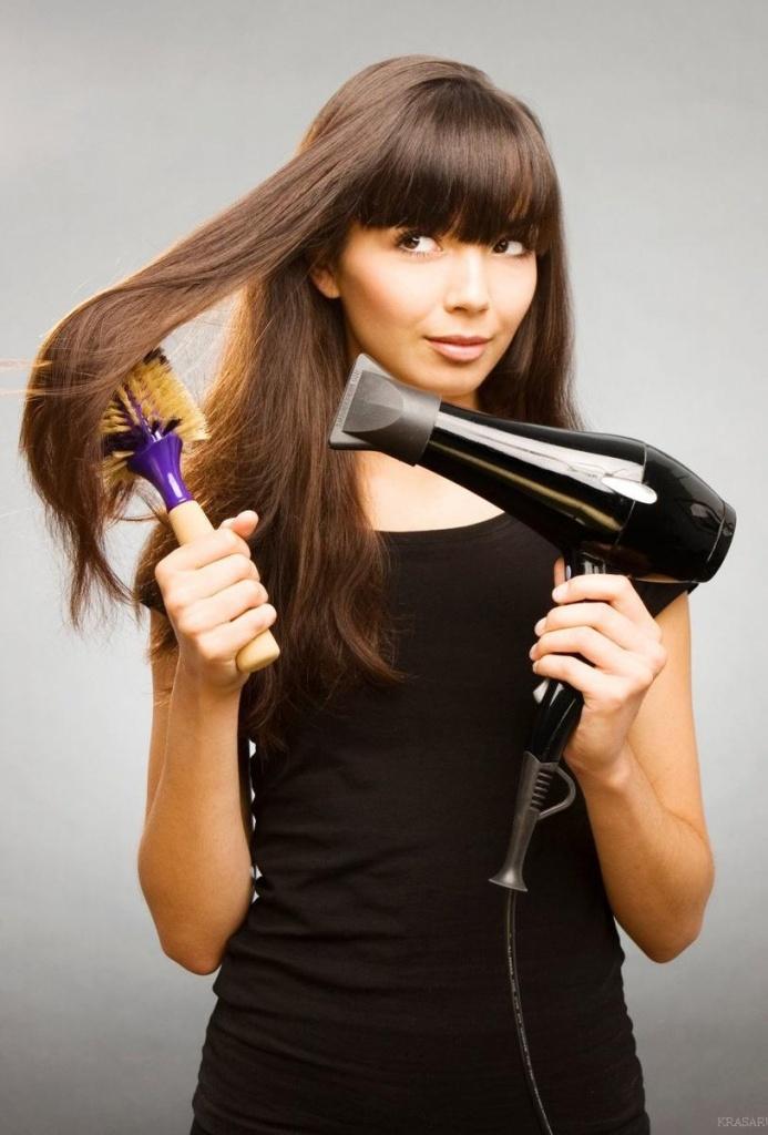 Как сделать укладку для прямых волос