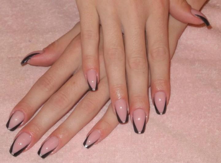 Фото дизайна покрытия ногтей гелем