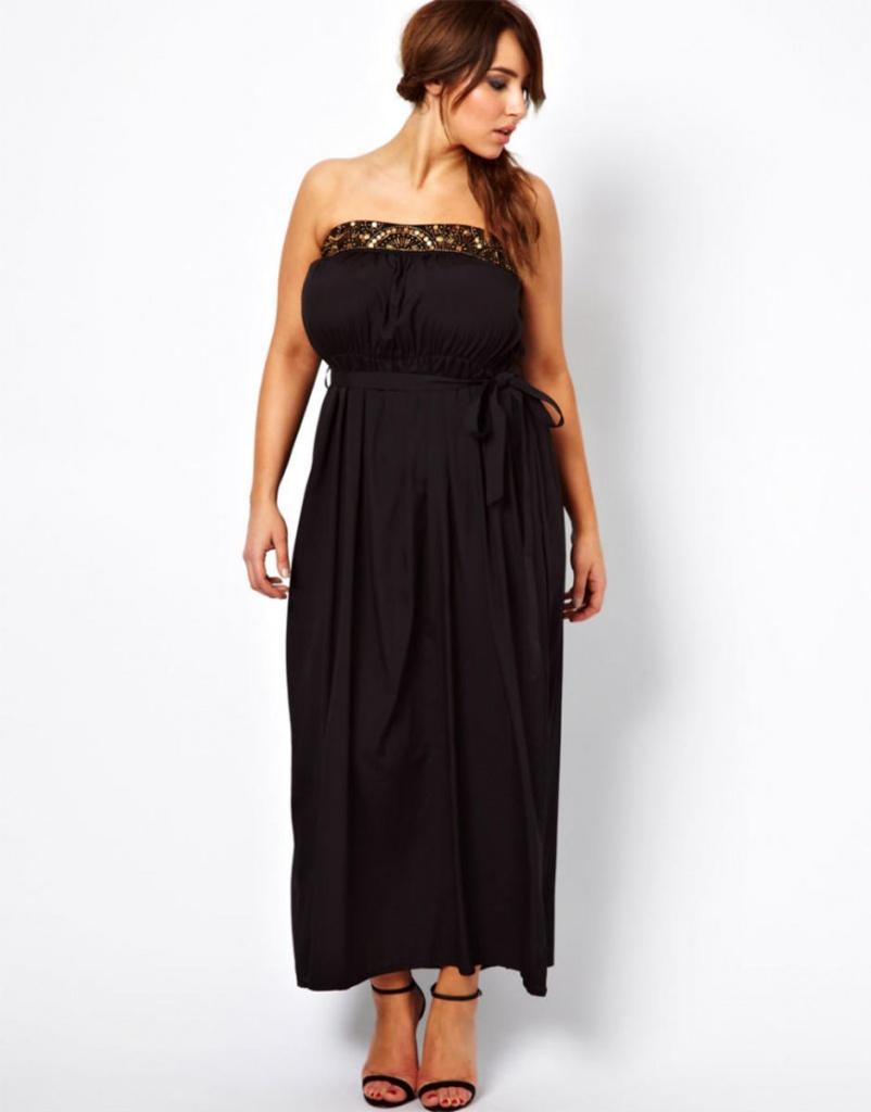 Платья в пол для высокой девушки