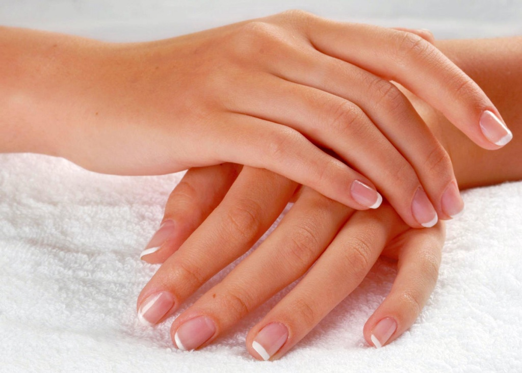 Красивые руки благодаря здоровым