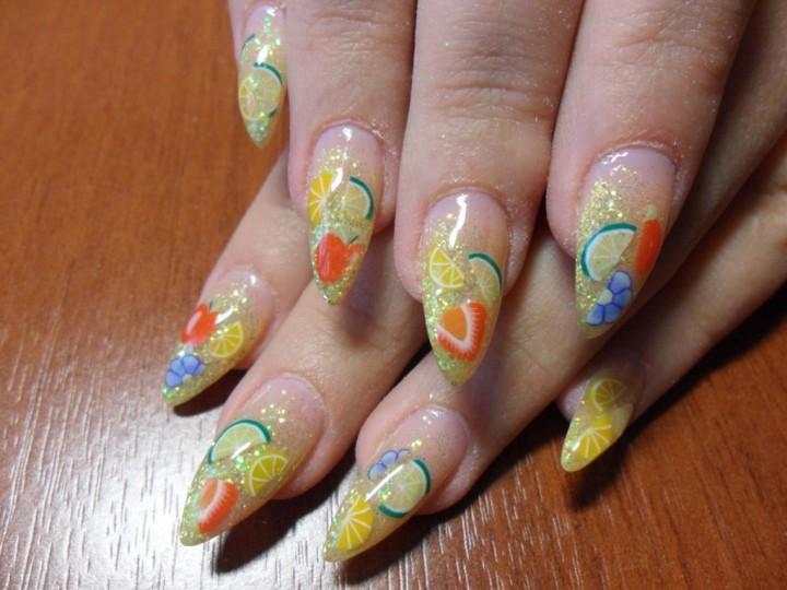 Интересные и простые идеи дизайна ногтей2