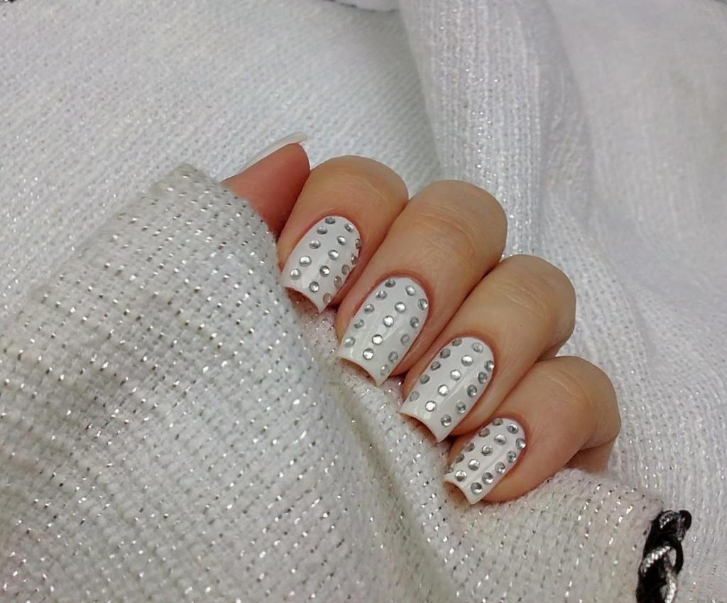 Свадебный дизайн ногтей  2014