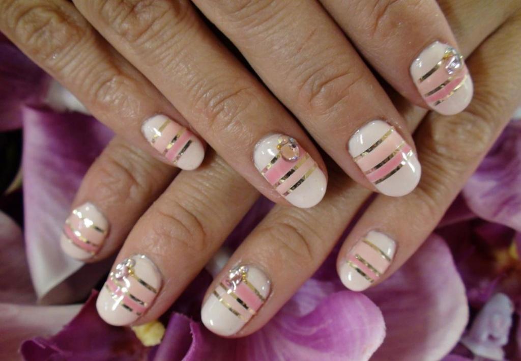 Маникюр ногтей в домашних условиях фото пошагово