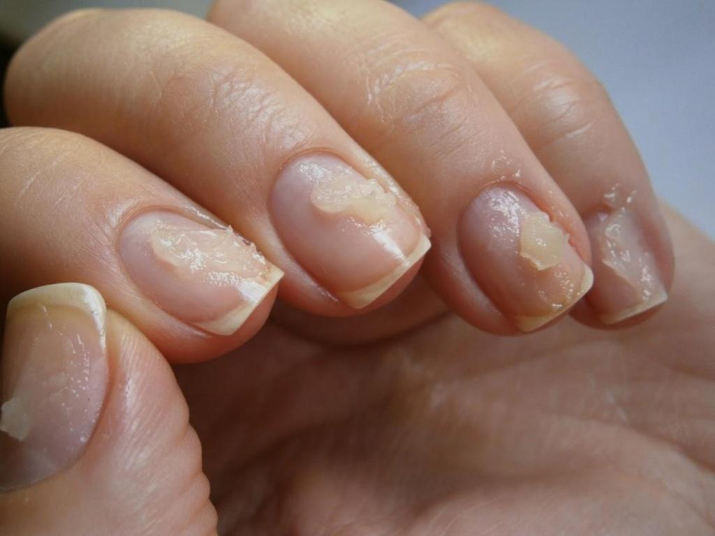 Ногти шеллак в домашних условиях