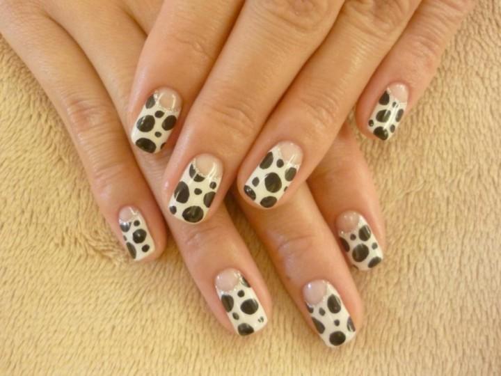 Маникюр на коротких ногтях – просто и красиво2