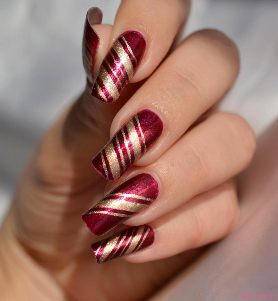 Простой дизайн ногтей фото