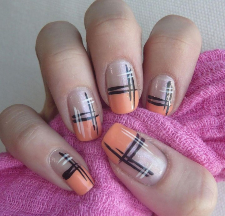 Рисунок на ногтях – это просто4