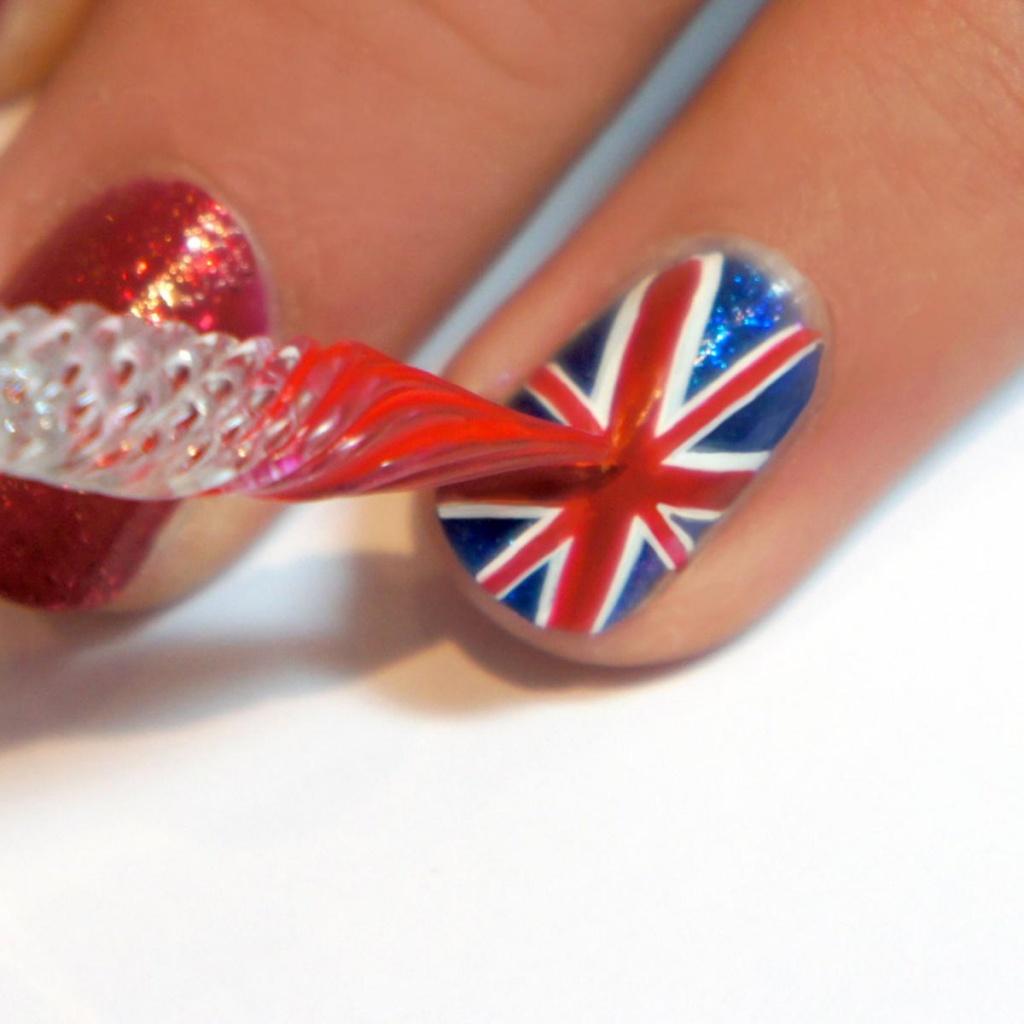 Дизайн с британским флагом